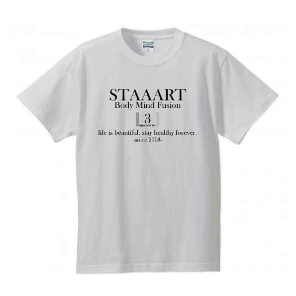 STAAARTオープン3周年記念Tシャツ